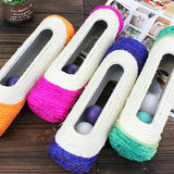 New Arrived Cat Scratch Board Training Toy Pet Supplies Cat Rack Rolling Sisal Scratching Post Trapped Ball Training Tool