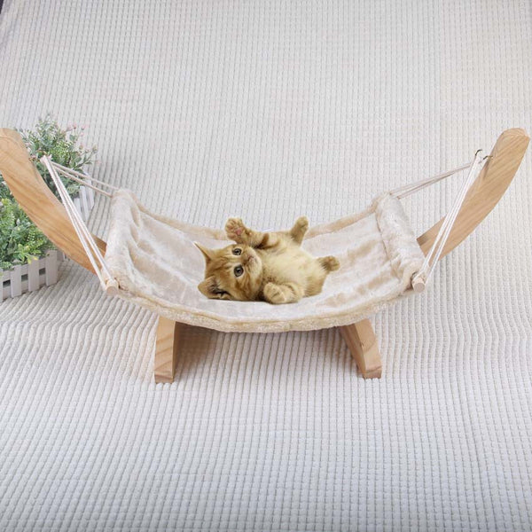 Soft Flock cat chair tree Hammock bed window cat cage hammock washable Cat Kitty wooden Bed mat Dogs litter hanging House