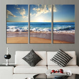 3 pcs(No Frame) Hot Sell The wide sea Modern Home Wall Decor painting Canvas Art HD Print Painting Canvas Painting Wall Picture