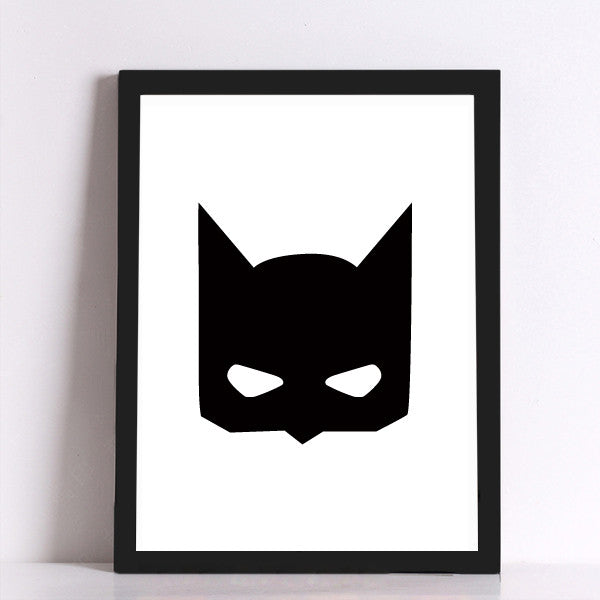 Batman Quote Canvas Art Print Poster, Wall Pictures for Home Decoration, Giclee Print FA246-1/2/3