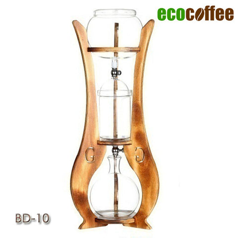 1 PC Free Shipping Hot Sell Espresso Coffee Ice Coffee Dutch Coffee BD-10  Ice Drip Cold Brewer Dripper