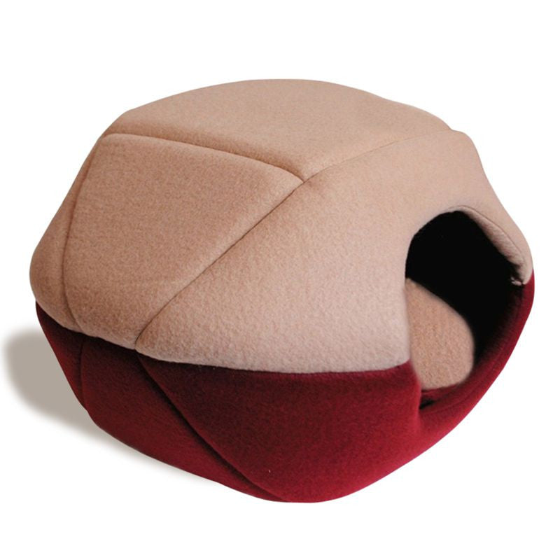 Multifunctional Pet Cat Cave Bed Soft Warm Bed for Pet Cat Bed Dog Pet Cusion Pet Cat Mat Dog Cave High Quality