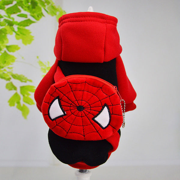 Spider-Man 10 Styles winter Pet Dog Clothes Clothing