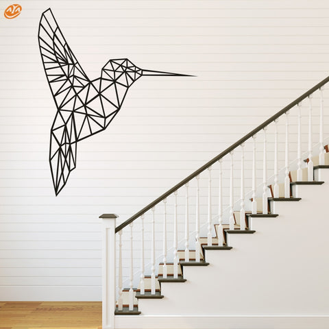 AYA DIY Wall Stickers Wall Decals, Geometric Bird  Wall Sticker Type PVC Wall Stickers M42*48cm/L56*65cm