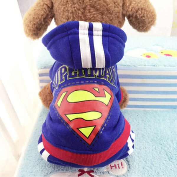 2016 new style 4 legs Dog clothes,pets coats,puppy dog hoodie Adidog clothes sweater costumes size XS S M L XL XXL  9 colors
