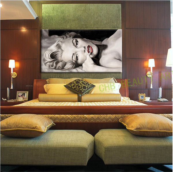 Marilyn Monroe Sexy canvas painting wall pictures for living room canvas print home decor artwork
