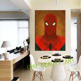 9 Huge Canvas Print Super Heroes Series Canvas Painting For Kids Room Wall Art Home Decoration Picture Unframed