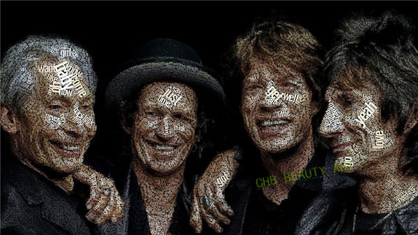The Rolling Stones Canvas Painting Home Decor Modern Paintings Decorative Picture Wall Pictures For Living Room No Frame