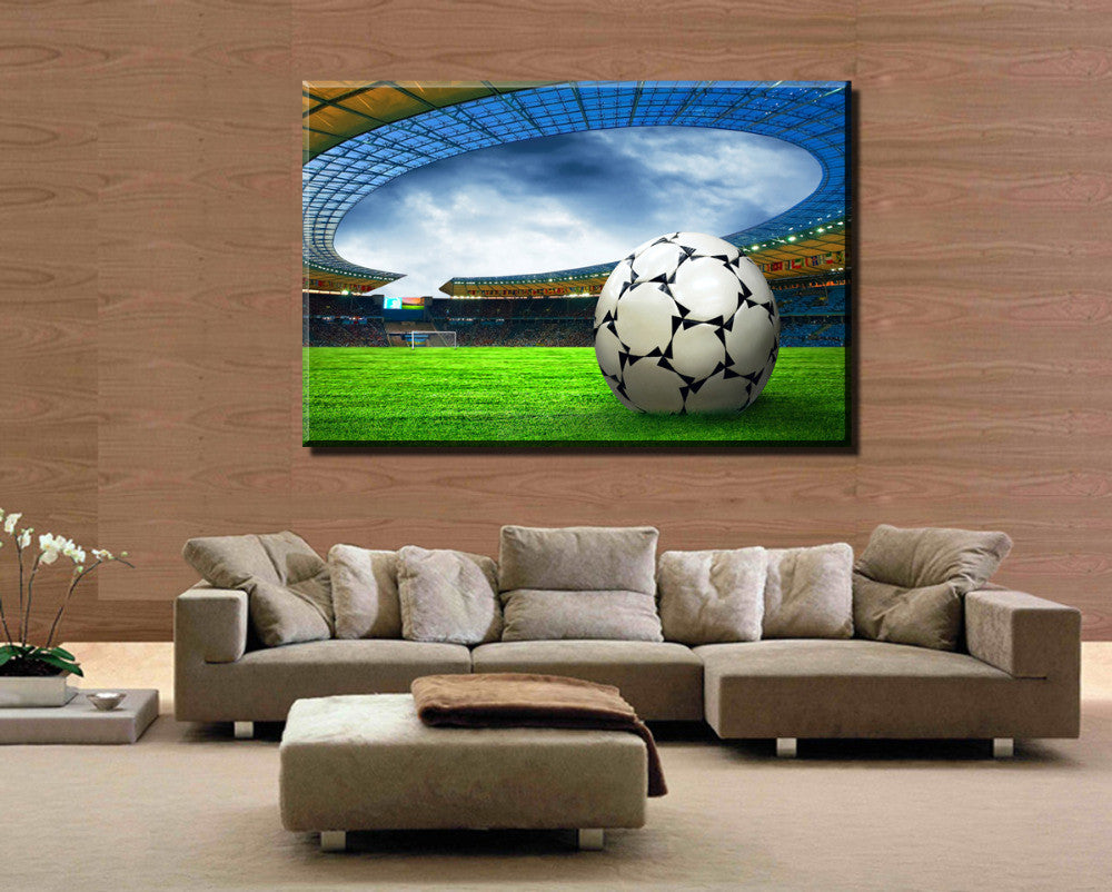 1 Pcs Football  Modern Home decoration Wall  painting Canvas picture Art HD Print Painting for bedroom gift