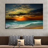 1 Piece Hot Sell Evening sea Modern Home Wall Decor painting Canvas Art HD Print Painting Canvas Picture Wall Painting