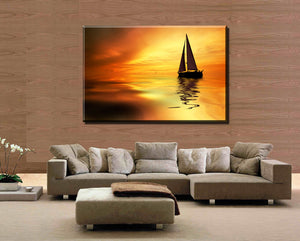 1 Piece Hot Sel l Everything is going smoothly Modern Home Wall Decor painting Canvas Art HD Print Painting for living room
