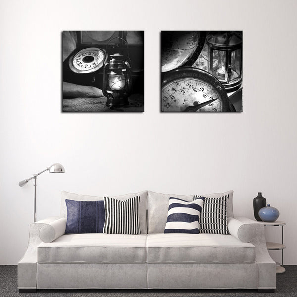 Unframed 2 sets Abstract Oil Lamp Modern Home Wall Decor Canvas Picture Art HD Print Painting On Canvas Artworks