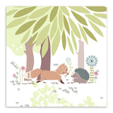 Modern Kawaii Animal Forest Animal Bear Lion Canvas A4 Art Prints Poster Living Room  Wall Picture Home Decor Painting No Frame