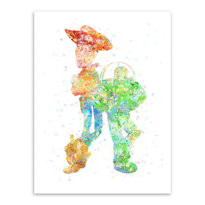 Framed Option A3 A4 Sizes Toy Story 4 Movie Poster or Canvas Art Print