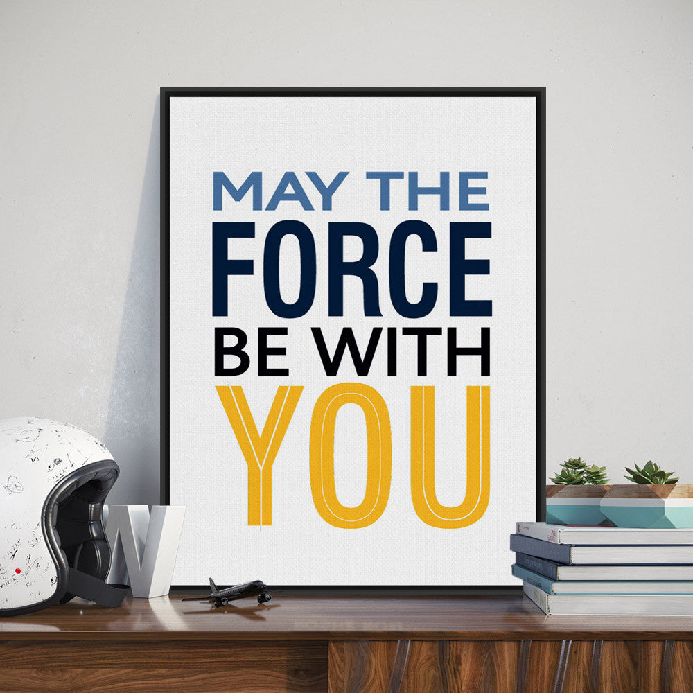 Modern Minimalist Motivational Typography Star Wars Quotes A4 Art Print Poster Wall Picture Canvas Painting Kids Room Home Decor