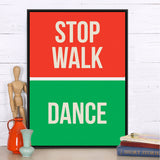 Modern Minimalist Motivational Typography Dancer Quotes A4 Huge Art Print Poster Wall Picture Canvas Painting No Frame Home Deco