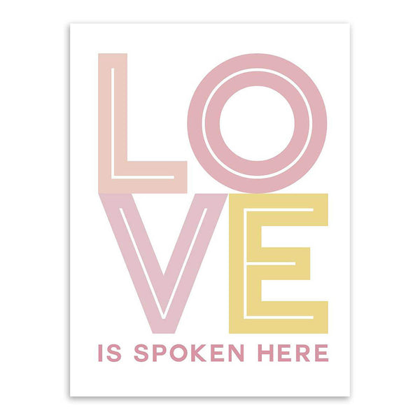 Modern Minimalist Inspirational Typography Creative Love Quotes Art Print Poster Wall Picture Canvas Painting No Frame Home Deco