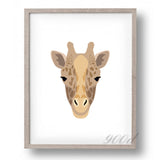 Wild Animal Set Canvas Art Print Painting Poster,  Wall Pictures for Home Decoration, Home Decor FA393