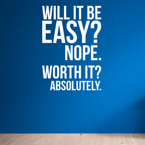 Will It Be Easy Nope Worth It Absolutely Wall Fitness