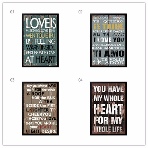 Vintage Poster Retro and Nostalgic Inspired Saying Canvas Painting Prints Wall Decor Bar,Office, Home Decor, Frames Not included
