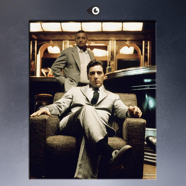 AL PACINO - THE GODFATHER PART II Art Print  poster  on canvas for wall decoration