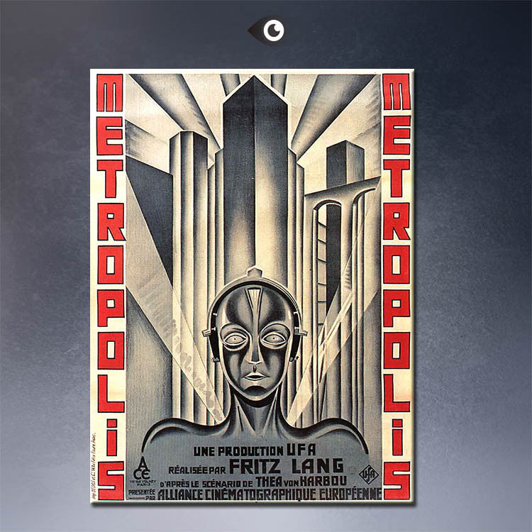 metropolis Art Movie Posters wall Art Picture Prints on Canvas