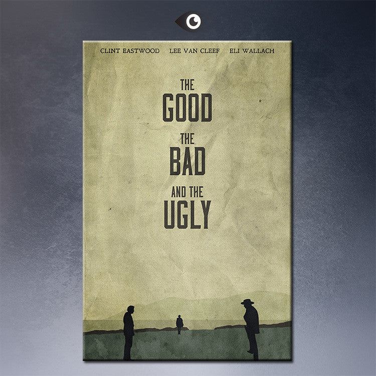 The Good, the Bad, and the Ugly by disgorgeapocalypse movie Poster wall Art Picture Prints on Canvas for decorative