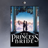 THE PRINCESS BRIDE VIDEO COVER  MOVIE Art Print  poster  on canvas for wall decoration