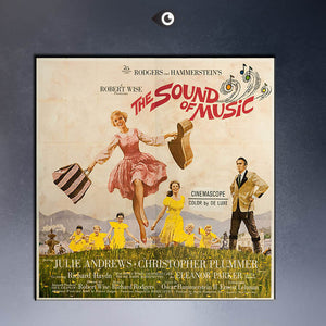 RODGERS AND HAMMERSTEIN'S THE SOUND OF MUSIC 1965 DIRECTED BY ROBERT WISE MOVIE Art Print  poster  on canvas for wall decoration