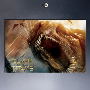 Free shipment 2010_clash_of_the_titans- 2 movie poster  Art Picture Paint on Canvas Prints