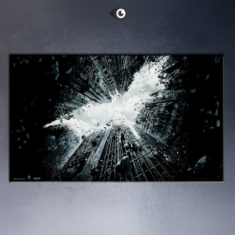 Free shipment the_dark_knight_rises_2013- movie poster  Art Picture Paint on Canvas Prints