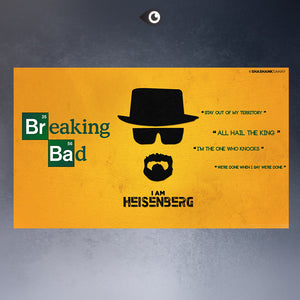 Free shipment  heisenberg_breaking_bad-movie TV poster  Art Picture Paint on Canvas Prints