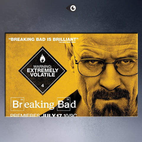 free shipmentTV POSTER The Breaking Bad Warning 24x36 Poster  wall Art Picture Paint on Canvas Prints P6
