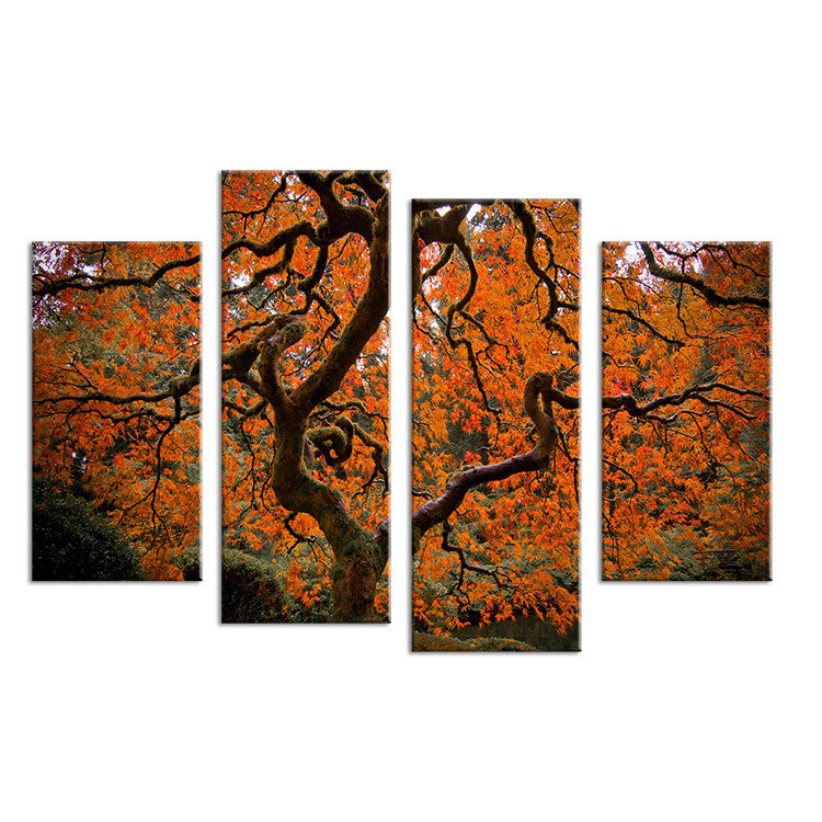 4pcs Wall Art Pictures Canvas Prints Landscape No Framed Artwork Painting