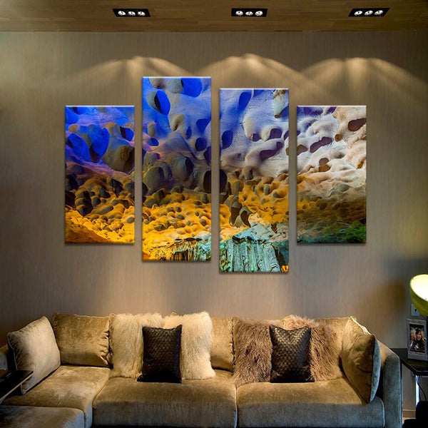 4PCS photograph art  living rooms set Wall painting print on canvas for home decor ideas paints on wall pictures art No framed