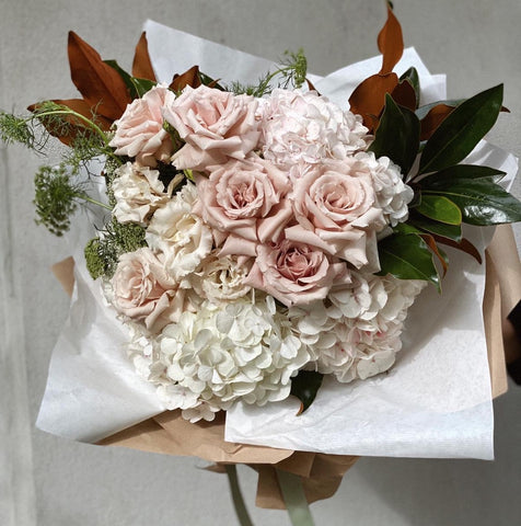 Mother's Day Flowers - Pink and White