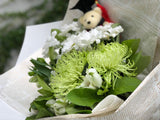 Graduation Posy - White