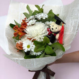 Graduation Posy - Orange