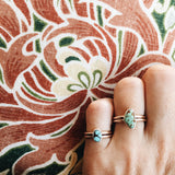 Royston Turquoise Adjustable Ring