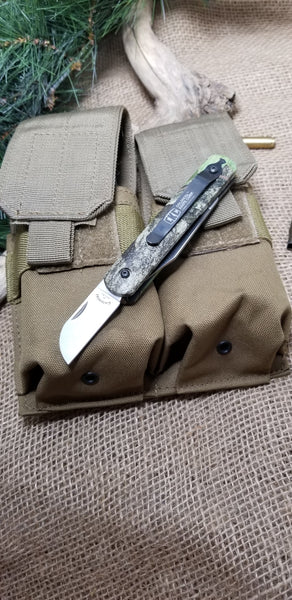 NSN 5110-00-526-8740 Military Issue Switchblade Paratrooper-Pilot Rescue Survival Knives