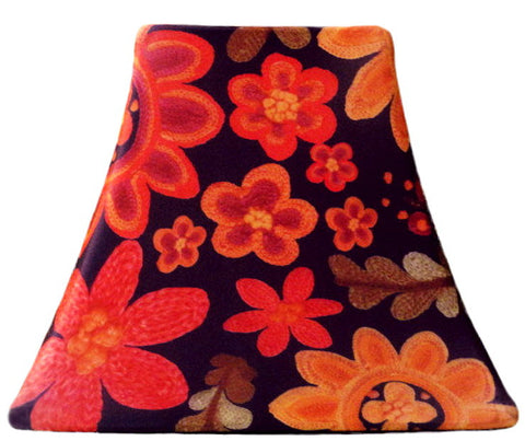 Autumn Needlepoint - SLIP COVERS for lampshades