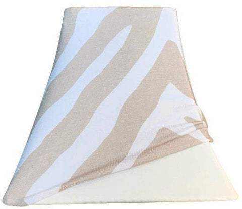Beige Zebra - SHADE COVERS for Lampshades
