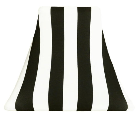 Black Stripe - SLIP COVERS for lampshades