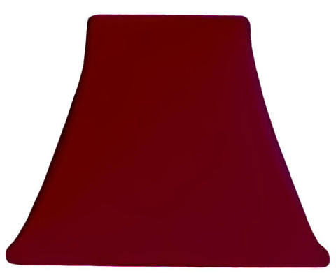 Burgundy Satin - SLIP COVERS for lampshades