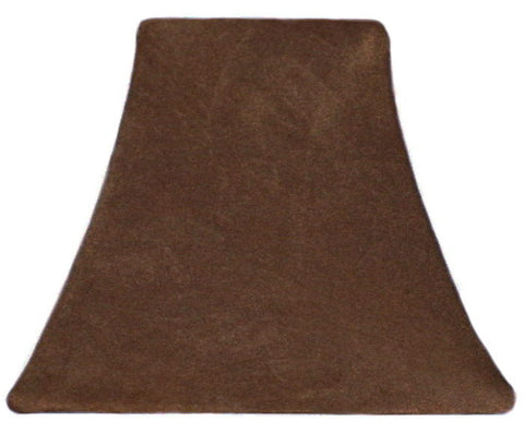 Chocolate Suede - SLIP COVERS for lampshades