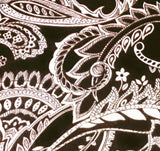 Chocolate Paisley - SLIP COVERS for lampshades