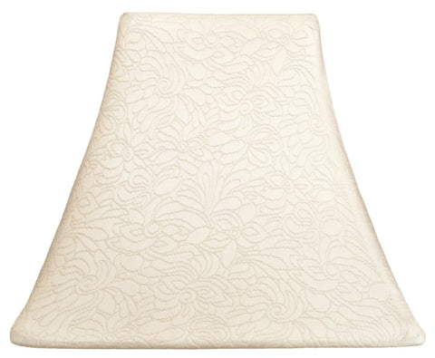 Ivory Needlepoint - SLIP COVERS for lampshades