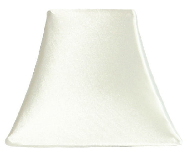 Ivory Satin - SLIP COVERS for lampshades