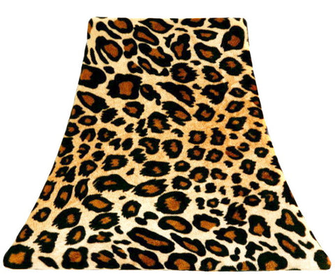 Mama Leopard Velvet - SLIP COVERS for lampshades
