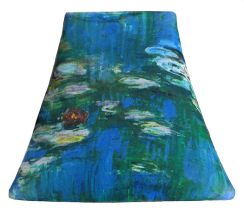 Monet's Water Lily - SLIP COVERS for lampshades